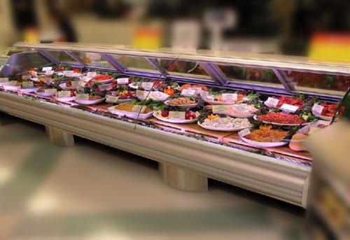 Image of Led display case lighting for food displays