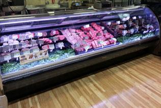 Image of LED service meat case lights