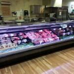 Visual 'wow' with Promolux in a service meat case