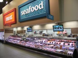 Servicio Merchanding carnes y mariscos Casos en Longos Bros supermercado