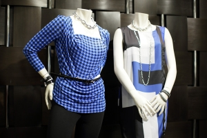 Blue-Shirts-on-Mannequins