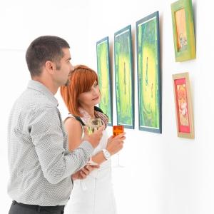 El hombre y la mujer ver el arte