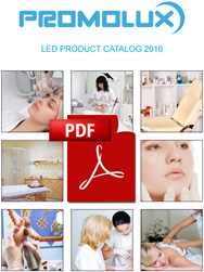Promolux catalog of LED products for dermatological applications