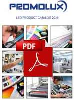Promolux catalog of LED products for the graphic arts and printing industry