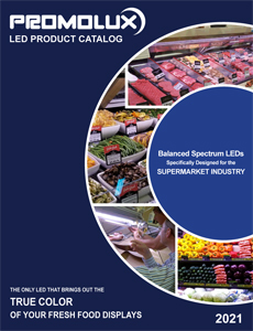 Promolux catalog of LED products for food retail displays