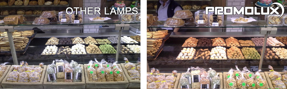 Enhance your baked goods display with Promolux