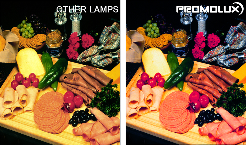 Meat and Deli Shop Display Case Lighting. Meat Display Case Lighting. Meat, deli, butcher, fresh meat lighting from Promolux LED lights